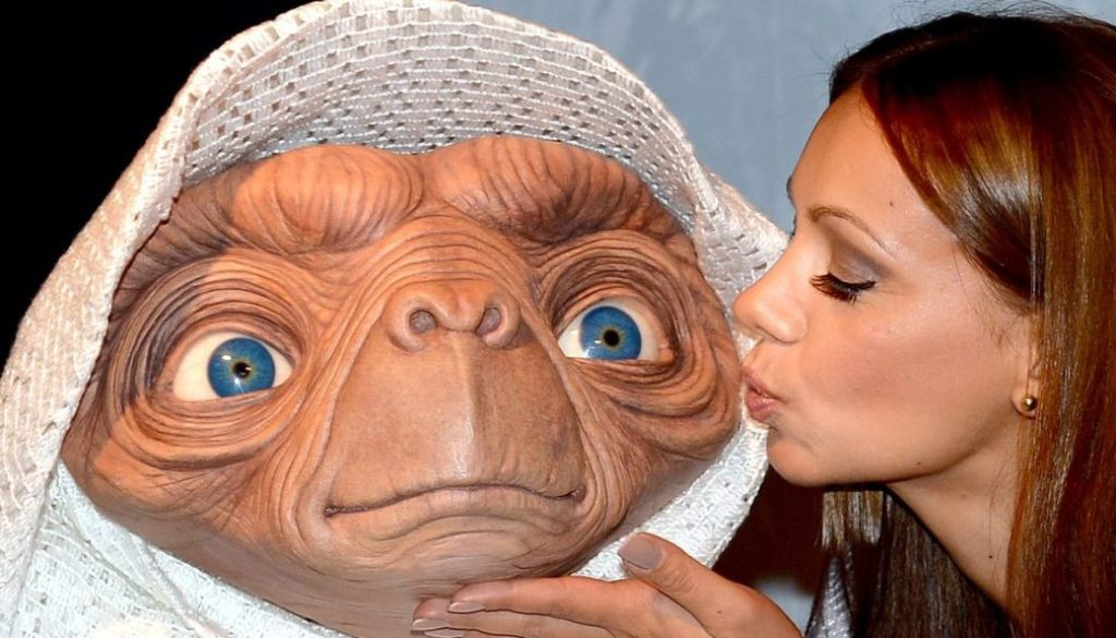 E.T. at Madame Tussauds in Berlin